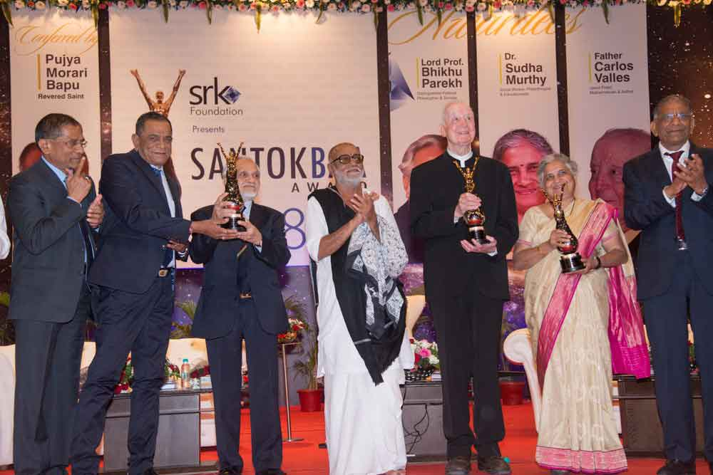 Recipients of the prestigious Santokbaa Award